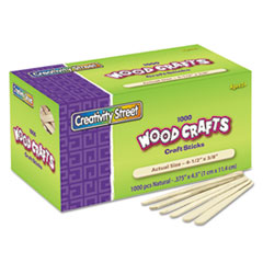 Chenille Kraft® Natural Wood Craft Sticks Thumbnail