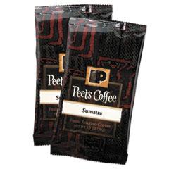 Peet's Coffee & Tea® Coffee Portion Packs, Sumatra, 2.5 oz Frack Pack, 18/Box