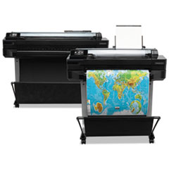 HP Designjet T520-Series Wireless Wide Format Inkjet ePrinter Thumbnail