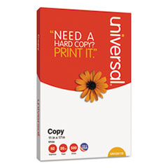 Universal® Copy Paper, 92 Bright, 20lb, 11 x 17, White, 500 Sheets/Ream, 5 Reams/Carton