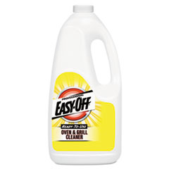 Professional EASY-OFF® Ready-to-Use Oven and Grill Cleaner, Liquid, 2qt Bottle, 6/Carton