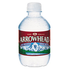 Arrowhead® Natural Spring Water, 8 oz Bottle, 48 Bottles/Carton