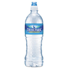 Deer Park® Natural Spring Water, 23.6 oz Bottle, 24 Bottles/Carton