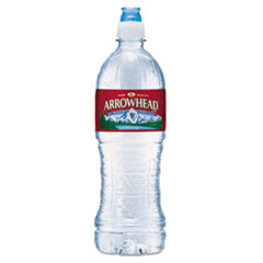 Arrowhead® Natural Spring Water, 23.6 oz Bottle, 24 Bottles/Carton