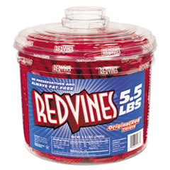 Red Vines® Original Red Twists, 5.5 lb Tub