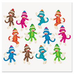 "TREND® Sock Monkeys Classic Accents Variety Pack, 6"", 36 Pieces"