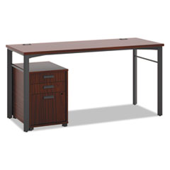 HON® Manage® Series Table Desk with Pedestal Thumbnail