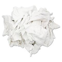 HOSPECO® New Bleached White T-Shirt Rags
