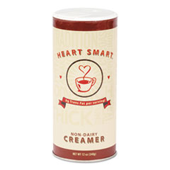 Diamond Crystal Heart Smart Creamer, 12 oz Canister, 24/Carton