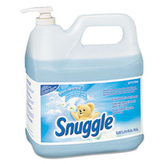 Snuggle® Liquid Fabric Softener, Blue Sparkle, Floral Scent, 2 gal Bottle, 2/Carton