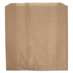 "Rubbermaid® Commercial Waxed Napkin Receptacle Liners, 2.75"" x 8.5"", Brown, 250/Carton"
