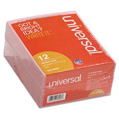 Universal® Important Message Pink Pads, 4 1/4 x 5 1/2, 50/Pad, Dozen