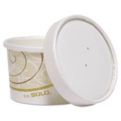 Dart® Flexstyle Double Poly Food Combo Packs, 8 oz, Symphony, 25/Pack, 10 Packs/Carton