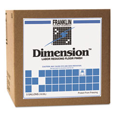 Franklin Cleaning Technology® Dimension Labor Reducing Floor Finish, 5gal Cube