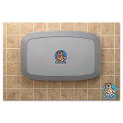 Koala Kare® Horizontal Baby Changing Station, 35 x 22, Gray