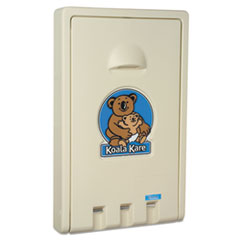 Standard Vertical Baby Changing Station, Cream