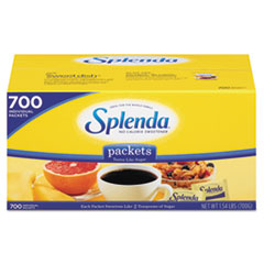Splenda® No Calorie Sweetener Packets, 700/Box
