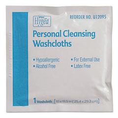 Sani Professional® Hygea Adult Wash Cloths, 10 x 11.5, 1-Ply, White, 400/Carton
