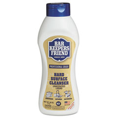 Bar Keepers Friend® Hard-Surface Soft Cleanser, 26 oz Squeeze Bottle, 9/Carton