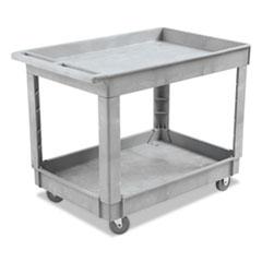 Boardwalk® Two-Shelf Utility Cart