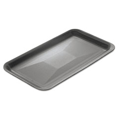 Genpak® Supermarket Trays, 13.88 x 1.25 x 10, White, 100/Carton
