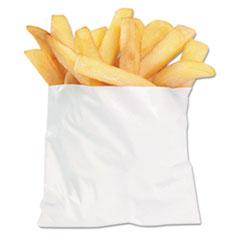 "Bagcraft French Fry Bags, 4.5"" x 3.5"", White, 2,000/Carton"