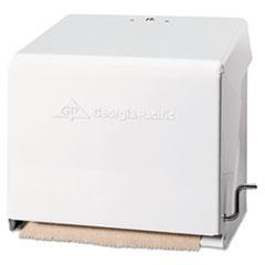 Georgia Pacific® Professional Mark II Crank Roll Towel Dispenser, 10.75 x 8.5 x 10.6, White