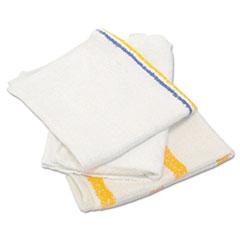 HOSPECO® Value Counter Cloth/Bar Mop, White, 25 Pounds/Bag