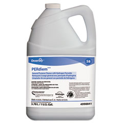 Diversey™ PERdiem Concentrated General Purpose Cleaner - Hydrogen Peroxide, 1gal, Bottle