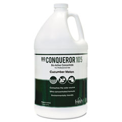 Fresh Products Bio Conqueror 105 Enzymatic Odor Counteractant Concentrate, Cucumber Melon, 1 gal, 4/Carton
