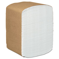 Scott® Full-Fold Dispenser Napkins, 1-Ply, 12 x 17, White, 250/Pack, 24 Packs/Carton