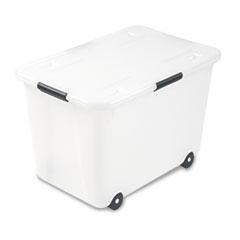 Advantus Rolling 15-Gal. Storage Box