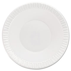 Dart® Quiet Classic Laminated Foam Dinnerware Bowls, 10-12 Oz, White, 125/Pk