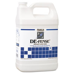 Franklin Cleaning Technology® DE-FENSE Non-Buff Floor Finish, Liquid, 1 gal. Bottle