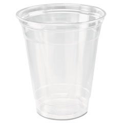 Dart® Ultra Clear Cups, Practical Fill, 12-14 oz, PET, 50/Bag, 1000/Carton