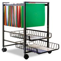 Advantus Mobile File Cart with Sliding Baskets Thumbnail