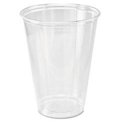 Dart® Ultra Clear Cups, Tall, 10 oz, PET, 50/Bag, 1000/Carton