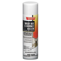 Chase Products Champion Sprayon Wasp, Bee and Hornet Killer, 15 oz, Can, 12/Carton