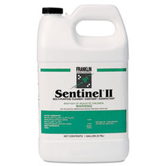 Franklin Cleaning Technology® Sentinel II Disinfectant, Citrus Scent, Liquid, 1 gal Bottle, 4/Carton