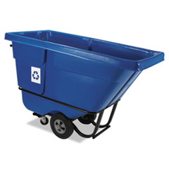 Rubbermaid® Commercial Rotomolded Recycling Tilt Truck Thumbnail