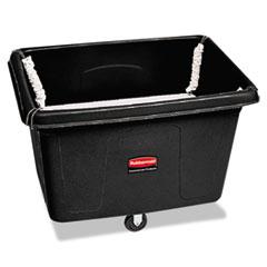 Rubbermaid® Commercial Spring Platform Truck, Rectangular, 500 lb Capacity, Black