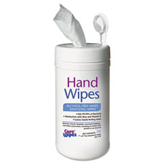 Image of Alcohol Free Hand Sanitizing Wipes, 7 x 8, White Office Supplies TXL470 2XL