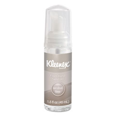 Kleenex® Alcohol-Free Foam Hand Sanitizer, 1.5 oz, Clear, 24/Carton