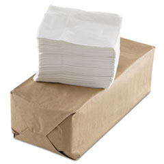 GEN Tall-Fold Napkins, 1-Ply, White, Paper, 10000/Carton