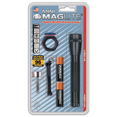 Maglite® Mini Maglite AA Flashlight, Black, Combo Pack