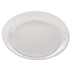 """Pactiv Pie Packaging Combo, Clear/Black, 1"""" Swirl Dome Lid, For 10"""" Pie, APET, 2/Carton"""