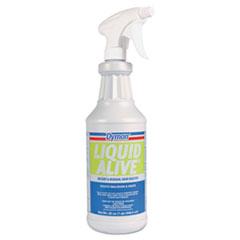 Dymon® LIQUID ALIVE Odor Digester, 32 oz Bottle, 12/Carton