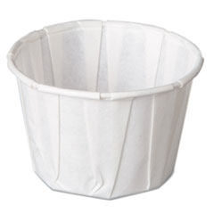 Genpak® Paper Portion Cups, 2 oz., White, 250/Bag