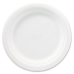 Chinet® Classic Paper Plates, 6 3/4 Inches, White, Round, 125/Pack HUH21226CT
