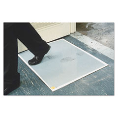 Crown Walk-N-Clean Dirt Grabber Mat 60-Sheet Refill Pad, 30 x 24, Gray
